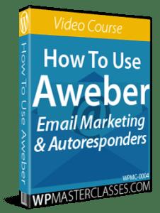 How To Use Aweber - WPMasterclasses.com