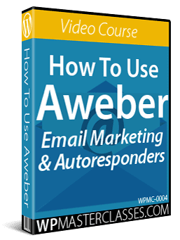 How To Use Aweber - WPMasterclasses.com