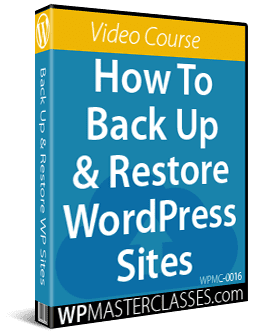 How To Backup & Restore WordPress
