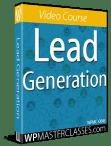 Lead Generation - WPMasterclasses.com