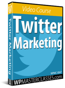 Twitter Marketing - WPMasterclasses.com