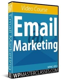Email Marketing - WPMasterclasses.com