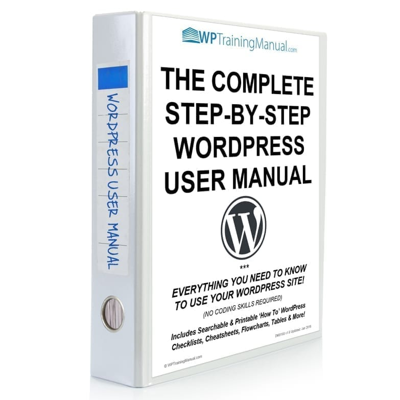 The Complete WordPress User Manual